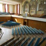 Die 1972 eingeweihte Orgel der Orgelbaufirma Kuhn in der Kirche Wattwil.