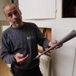 Matthias Hugentobler von der Firma Orgelbau Kuhn AG leitete die sieben Wochen dauernde Revision, zum Teil waren 3 Arbeiter im Einsatz.